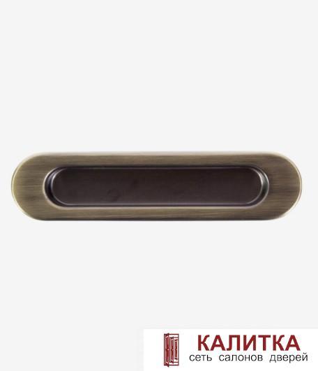 Ручка для раздвижных дверей (1 шт) Galeria AB бронза