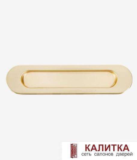 Ручка для раздвижных дверей (1 шт) Galeria мат. золото