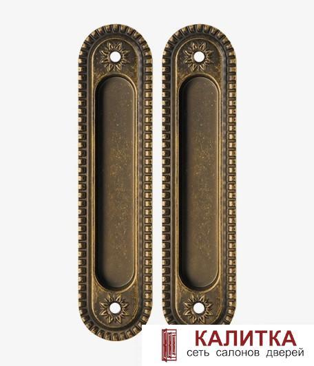 Ручка для раздвижных дверей (2 шт) SH010/CL ОВ-13 античная бронза ARMADILLO