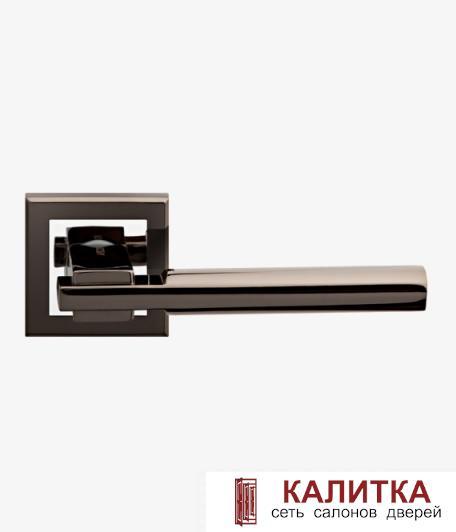 Ручка дверная  на квадратном основании H-18038 BRISA BN графит TD185221