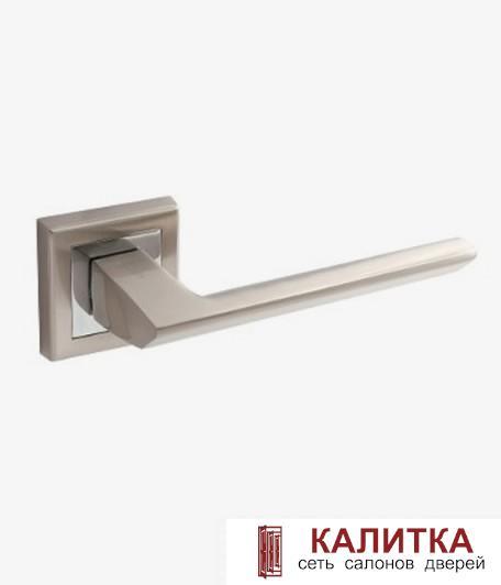 Ручка дверная  на квадратном основании H-18105 BOREY NIS мат. никель TD185229