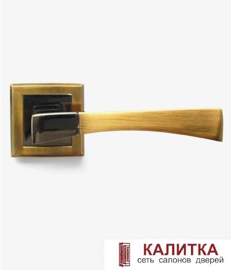 Ручка дверная  STRICTO A-16-30 COFEE BLACK/MOККA кофе черный/мокко TD185226