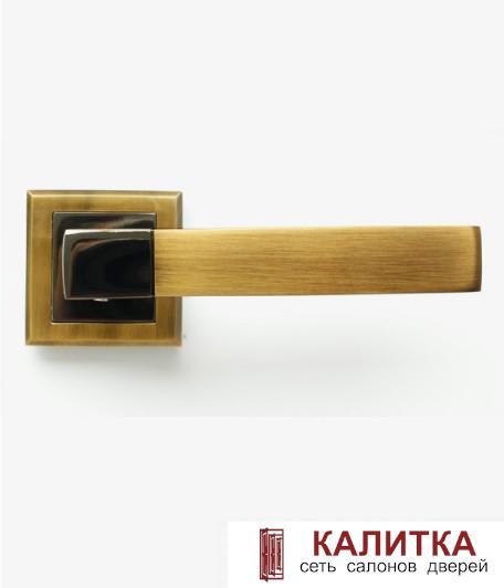 Ручка дверная  STRICTO A-67-30 COFEE BLACK/MOKKA кофе черный/мокко TD185201