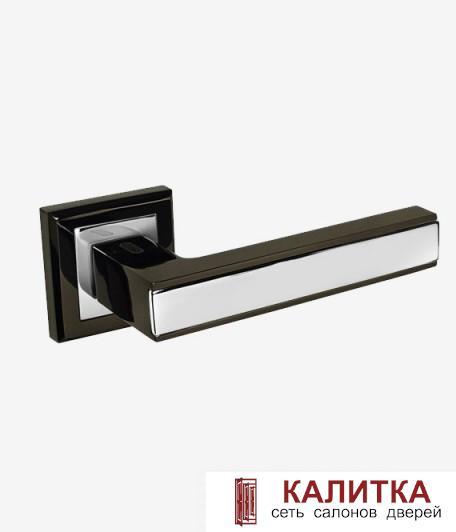 Ручка дверная PALIDORE на квадратном основании 290 BH графит (блест) TD185235