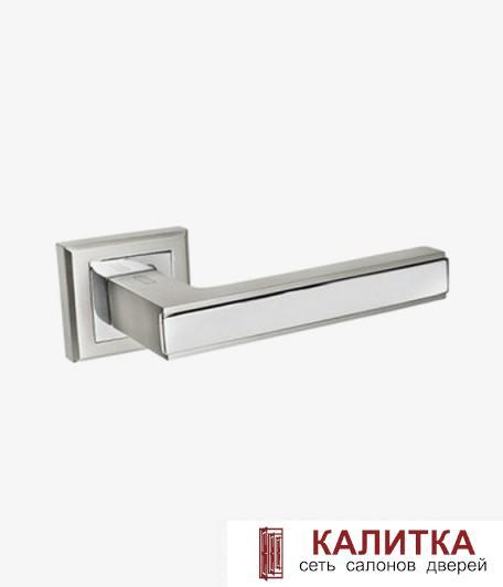 Ручка дверная PALIDORE на квадратном основании 290 BSL матовый алюминий TD185235