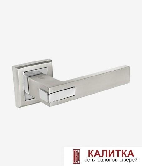 Ручка дверная PALIDORE на квадратном основании 291 BSL матовый алюминий TD185236