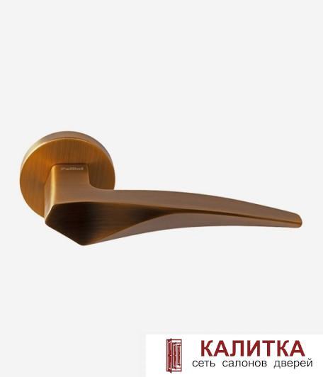Ручка дверная Pallini на круглом основании Шанхай PAL-Z11 MatCoffe матовый кофе