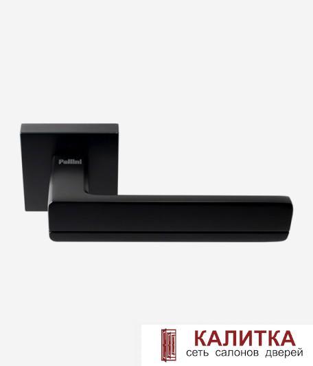 Ручка дверная Pallini на квадратном основании Мадрид PAL-Z06-S MatBlack черный