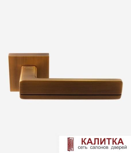 Ручка дверная Pallini на квадратном основании Мадрид PAL-Z06-S MatCoffe матовый кофе