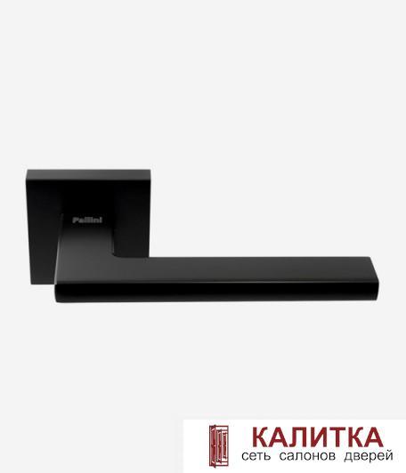 Ручка дверная Pallini на квадратном основании Мюнхен PAL-Z07-S MatBlack черн TD185250