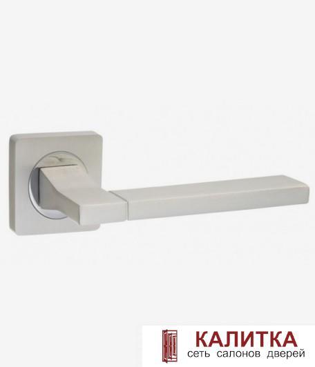 Ручка дверная  на квадратном основании AL 524-02 PW/СP жемчужный TD185222