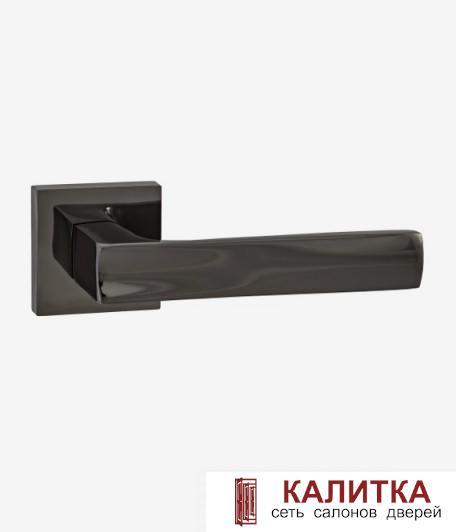 Ручка дверная  на квадратном основании AL 527-03 BN черный никель TD185223