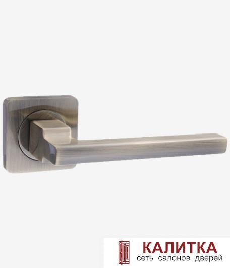 Ручка дверная RENZ на квадратном основании РИМ DH 53-02 AB бронза TD185203