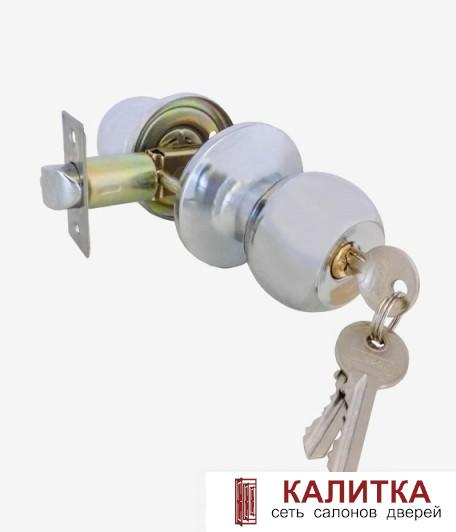 Ручка-кноб Vanger 6072-01-CR ключ-фиксатор хром