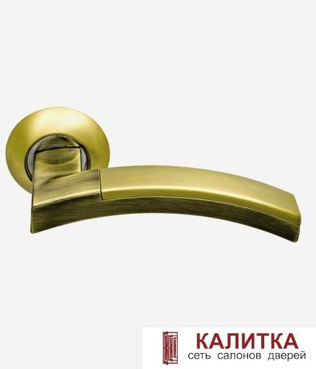 Ручка  132 S.GOLD/BR золото матовое/античная бронза