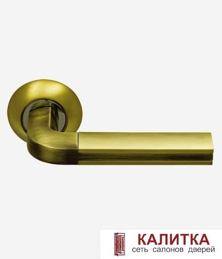 Ручка  96 S. GOLD/BR золото матовое/античная бронза