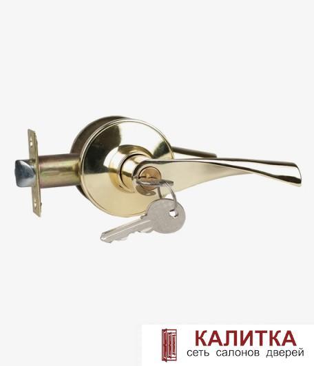 Ручка-защелка  3B2-01 ключ фиксатор G золото