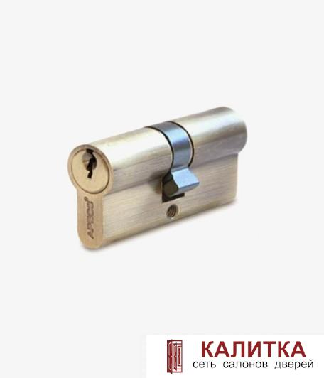 Цилиндр  ключ-ключ SC- 60-Z (25*10*25) AB бронза