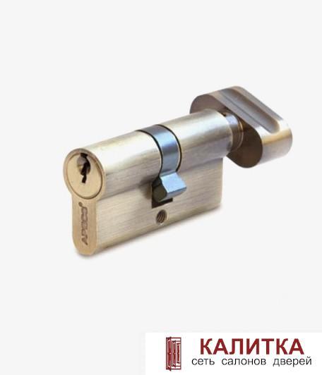 Цилиндр  ключ-завертка SC- 60-Z-C (25*10*25) AB бронза