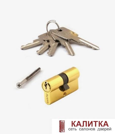 Цилиндр  ключ-ключ ZC 60 (25*10*25) G золото