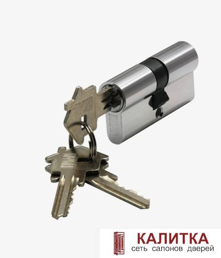 Цилиндр  CYL 3-60 CHROME ключ-ключ
