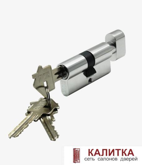 Цилиндр  CYL 3-60 TR CHROME ключ-завертка