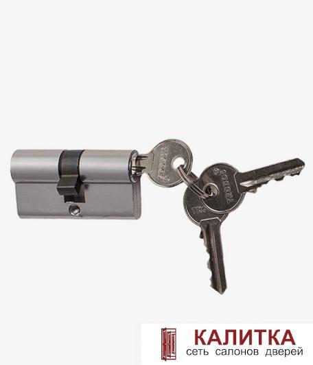 Цилиндр  ключ-ключ ЦМ 60 (25*10*25)-3K CP хром
