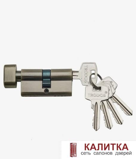 Цилиндр  ключ-завертка ЦАМ ЦМВ 60 (25*10*25)-5К AB бронза