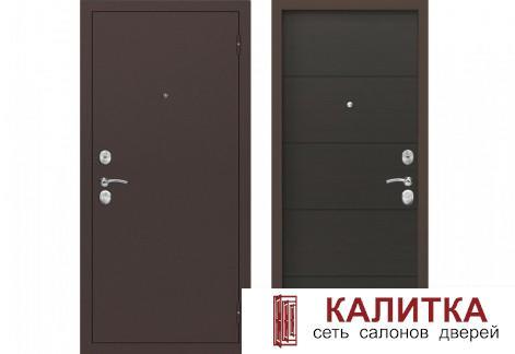 Вектор Антик медный / Лиственница темная 860х2050 левая