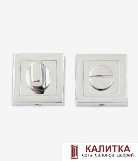 Завертка сантехническая  на квадратном основании Windrose WC 1803-CR блестящий хром