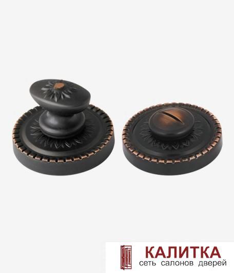 Завертка сантехническая ARMADILLO на круглом основании WC-BOLT BK6/CL ABL-18 темн медь