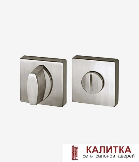 Завертка сантехническая ARMADILLO на квадратном основании WC-BOLT BK6/USQ SN-3 матовый никель