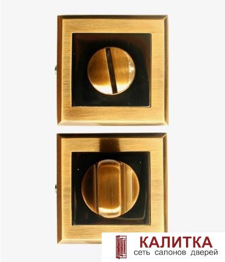 Завертка сантехническая  на квадратном основании WC-30 COFFEE MOKKA