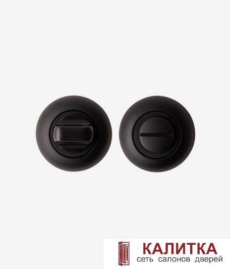 Завертка сантехническая Code Deco на круглом основании WC 1403 BLM черный