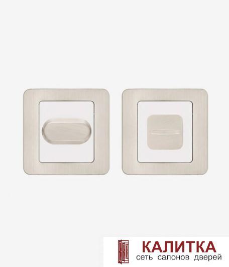 Завертка сантехническая Code Deco на квадратном основании WC-2207-NIS никель