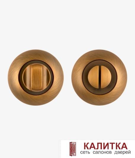 Завертка сантехническая FUARO на круглом основании BK6 RM CF-17 кофе