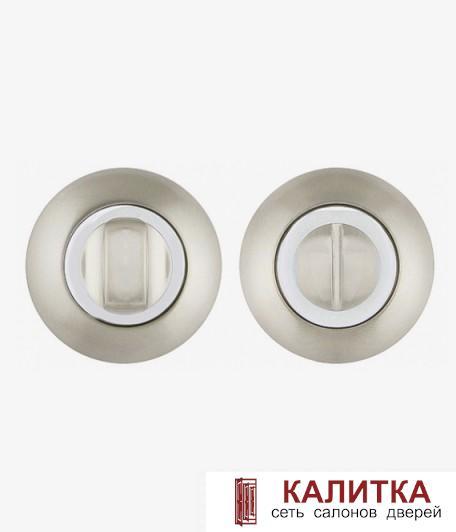 Завертка сантехническая FUARO на круглом основании BK6 RM SN/CP-3 (матовый никель/хром) SOUND/ENIGMA
