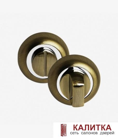 Завертка сантехническая PALIDORE на круглом основании OL BB бронза