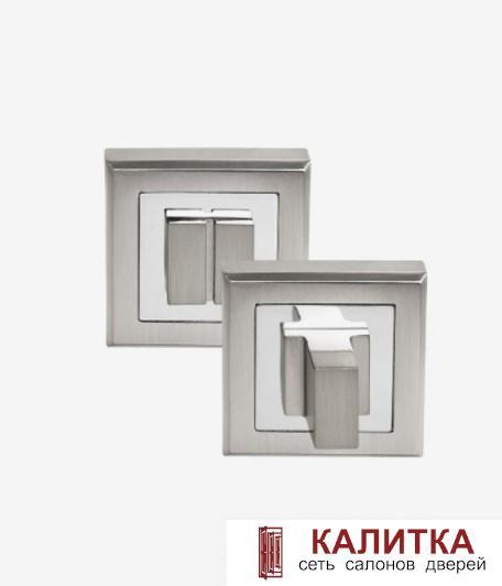 Завертка сантехническая PALIDORE на квадратном основании OLS HH белый никель