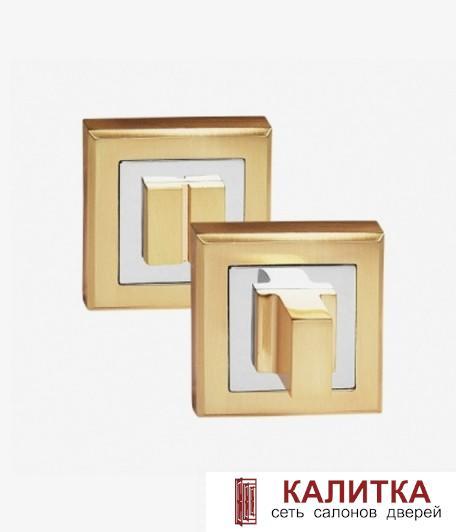 Завертка сантехническая PALIDORE на квадратном основании OLS SB матовое золото