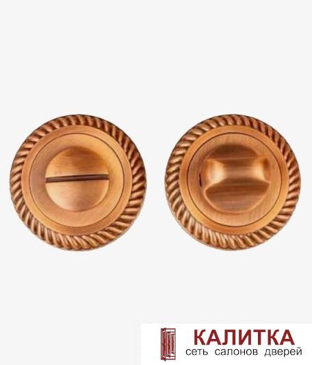 Завертка сантехническая  на круглом основании BK AL 17 CF кофе