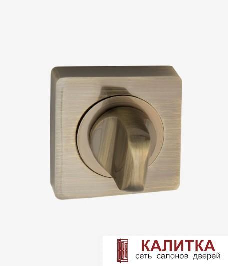 Завертка сантехническая  на квадратном основании BK AL 02 AB античная бронза