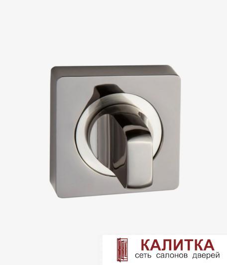 Завертка сантехническая  на квадратном основании BK AL 02 BN/SN графит/никель матовый