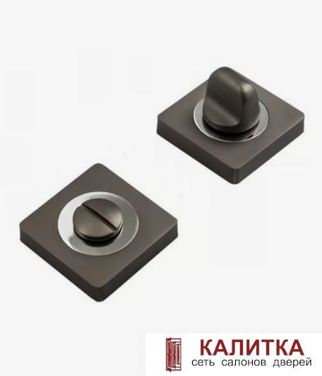 Завертка сантехническая  на квадратном основании BK AL 02 MBN матовый графит