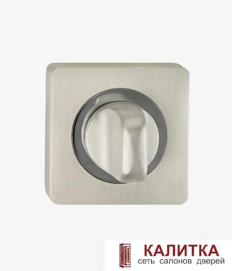Завертка сантехническая  на квадратном основании BK AL 02 PW/CP жемчужные