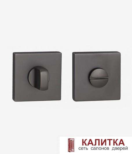 Завертка сантехническая  на квадратном основании BK AL 03 B черная