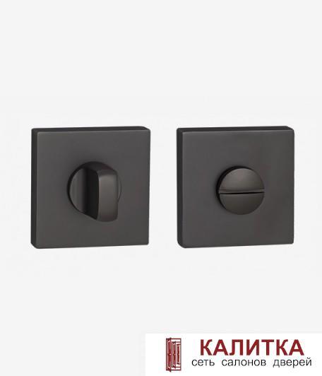 Завертка сантехническая  на квадратном основании BK AL 03 MBN матовый черный никель