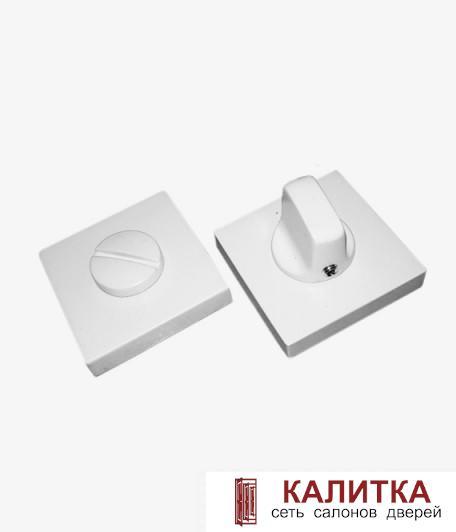 Завертка сантехническая  на квадратном основании BK AL 03 MSW мат.супер белый