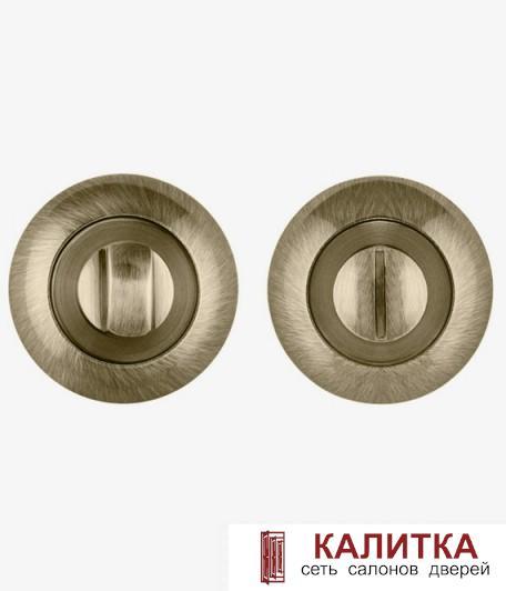 Завертка сантехническая PUNTO на круглом основании BK6 TL ABG-6 зеленая бронза