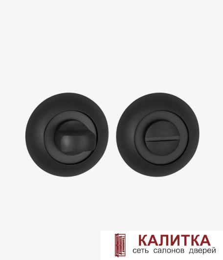 Завертка сантехническая PUNTO на круглом основании BK6 TL BL-24 черный